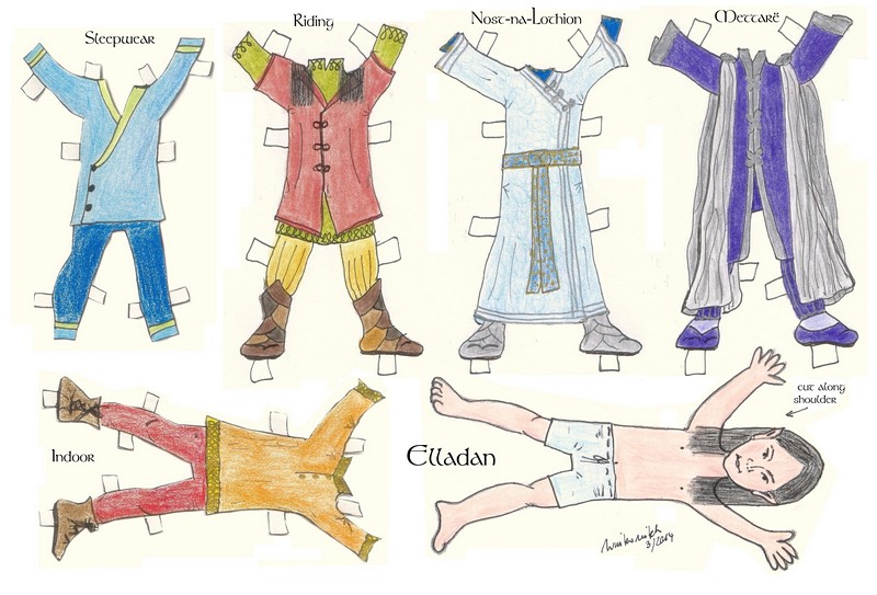 Thumbnail of the paper dolls